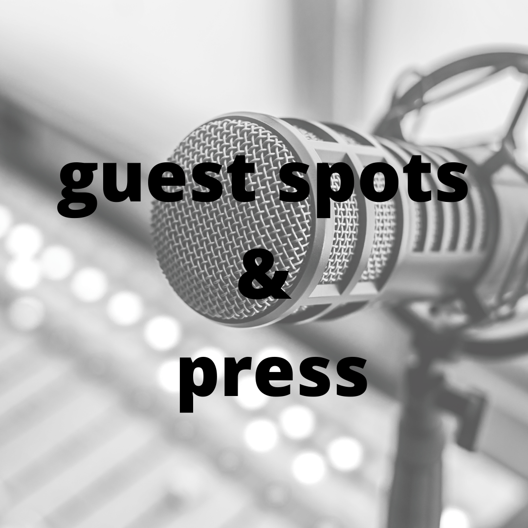 guest spots and press