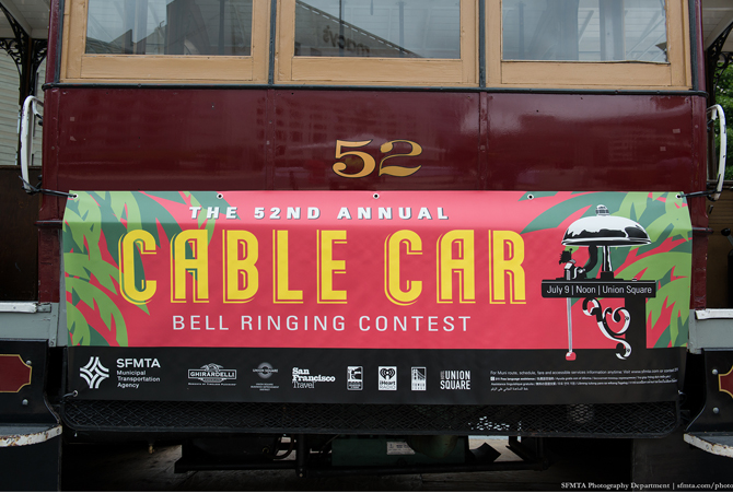 52nd Annual Cable Car Bell Ringing Contest