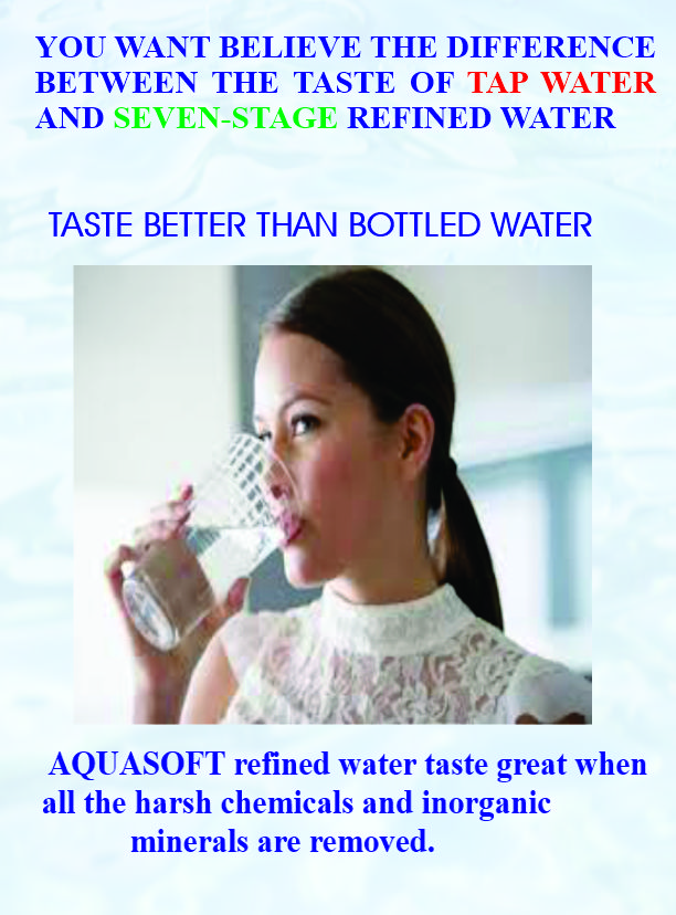 Difference Between Tap Water and Seven-Stage Refined Water