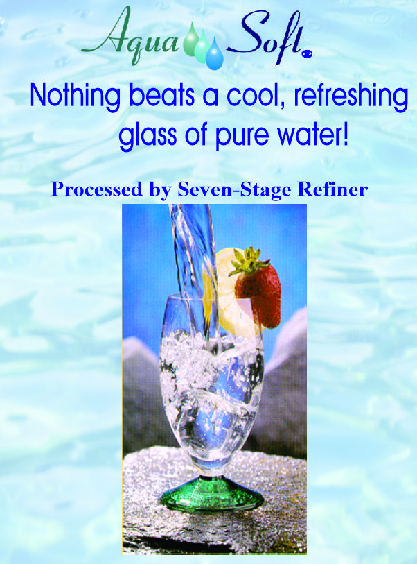 Nothing Tastes Better Than Refiner Water