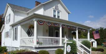 Country Dreams Bed and Breakfast Laurel Highlands Mountains