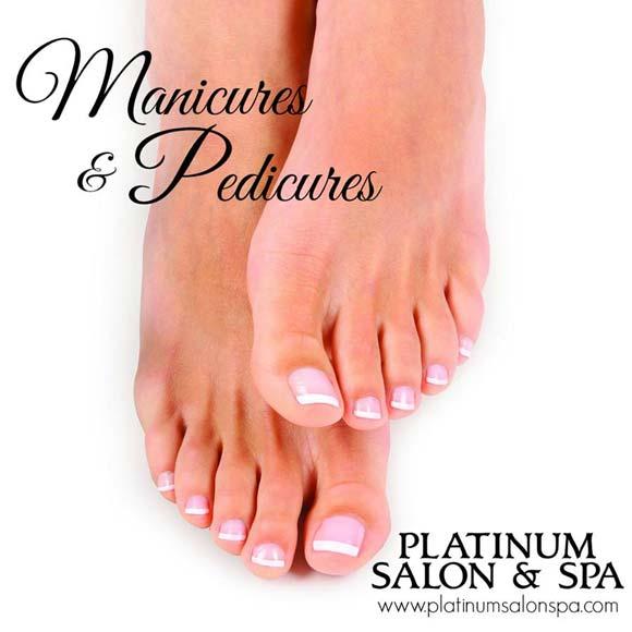 Platinum Spa & Salon Pedicures for Wedding Party