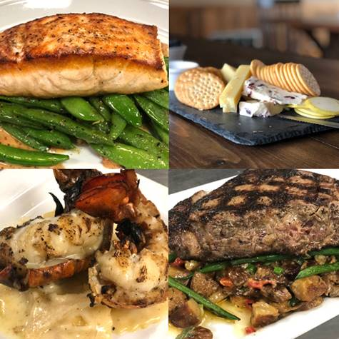 Main Street Wine Bar's delicious entrees