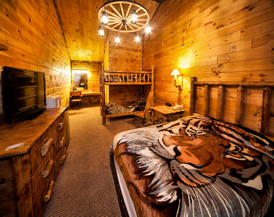 Deluxe room at Log Cabin Suites