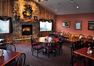 Dining at Laurel Highlands restaurant Foggy Mountain