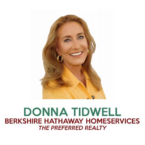 Donna Tidwell Realtor Berkshire