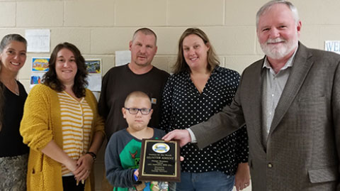 September 19 Student of the Month