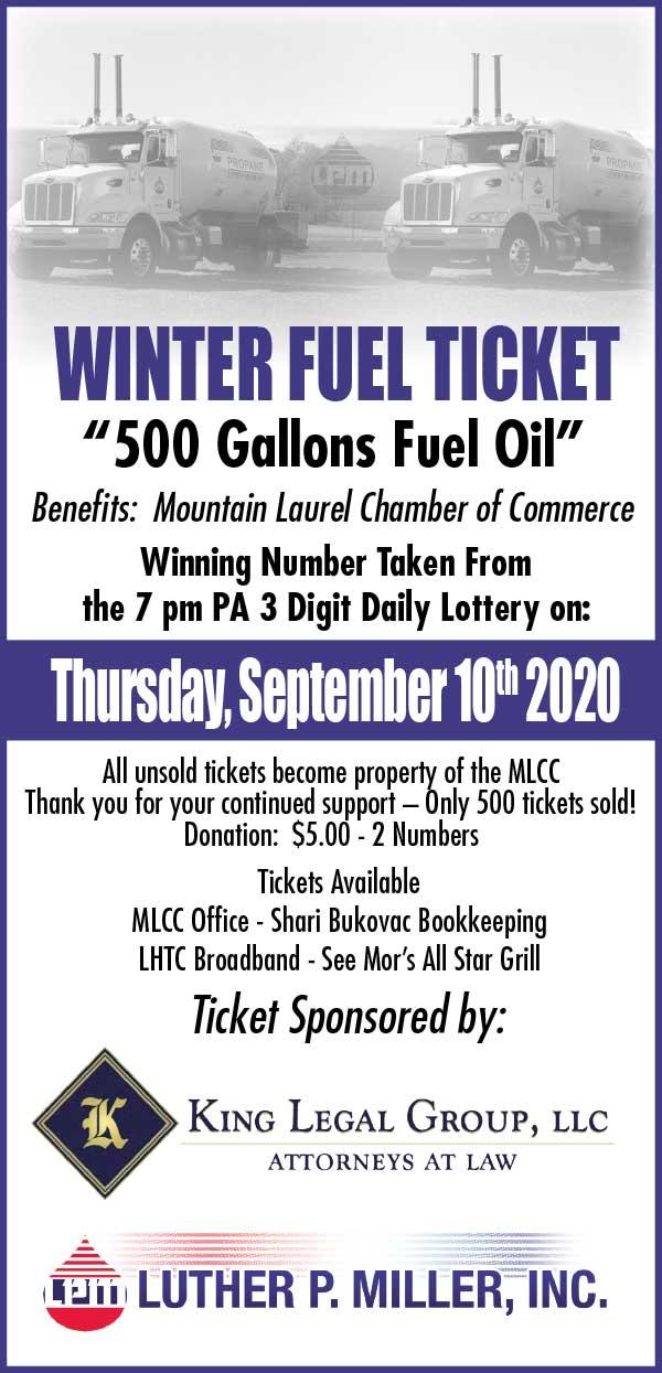 Winter Fuel Ticket MLCC