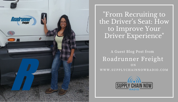 From Recruiting to the Driver's Seat: How to Improve Your Driver Experience