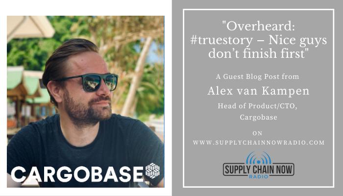 Overheard: #truestory – Nice guys don't finish first