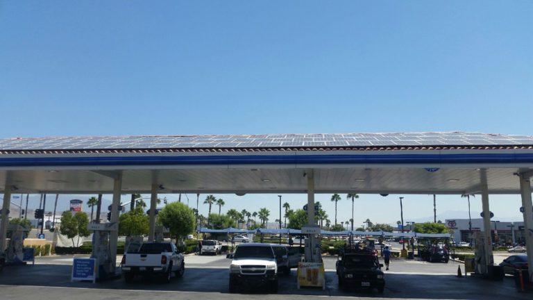 Gas Station Solar Installations   Aikyum Solar
