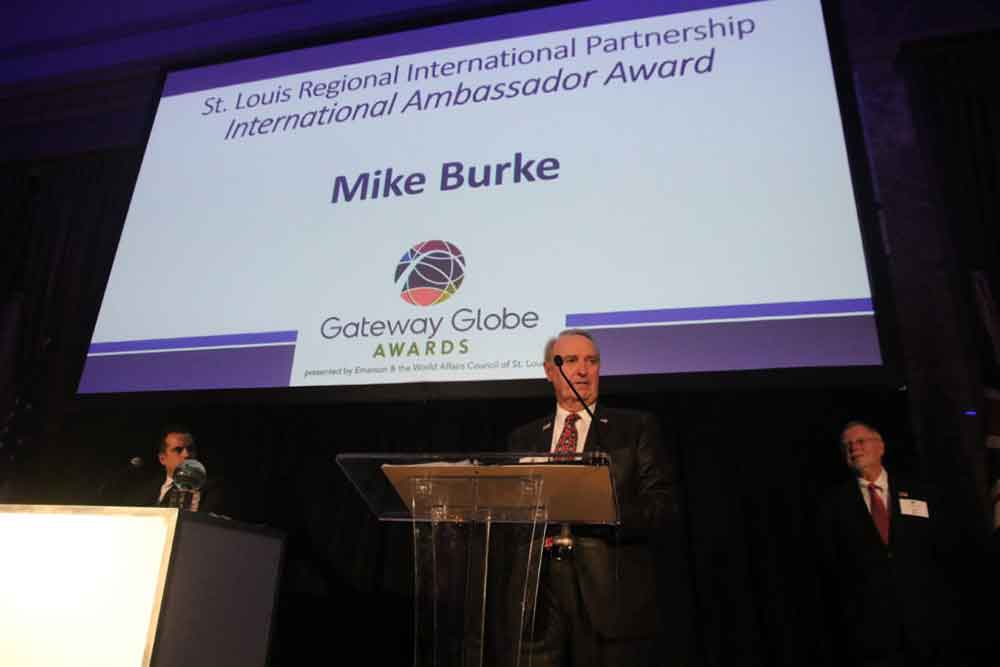 World Affairs STL 2019 Gateway Globe Awards MikeBurke