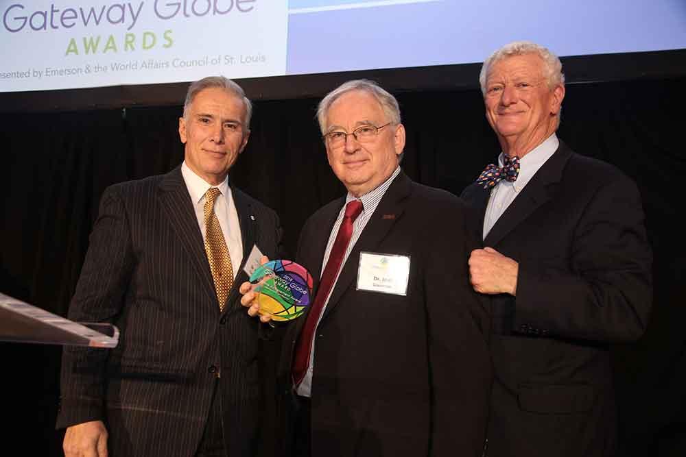World Affairs STL 2019 Gateway Globe Awards Joel Glassman