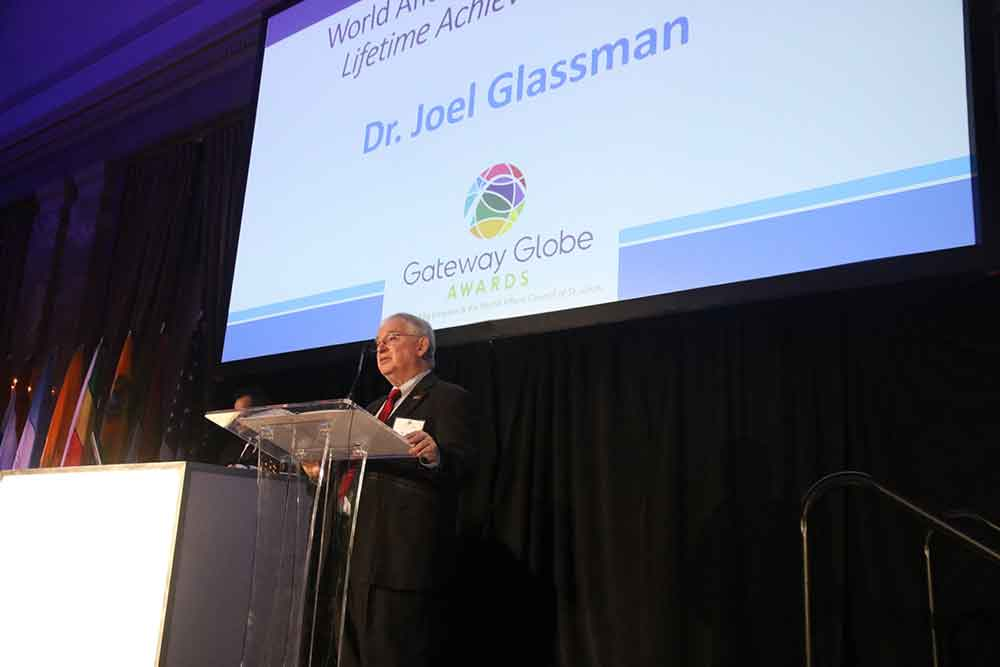 World Affairs STL 2019 Gateway Globe Awards Joel Glassman