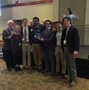 St. Louis University High School Team 1st Place WorldQuest 2020