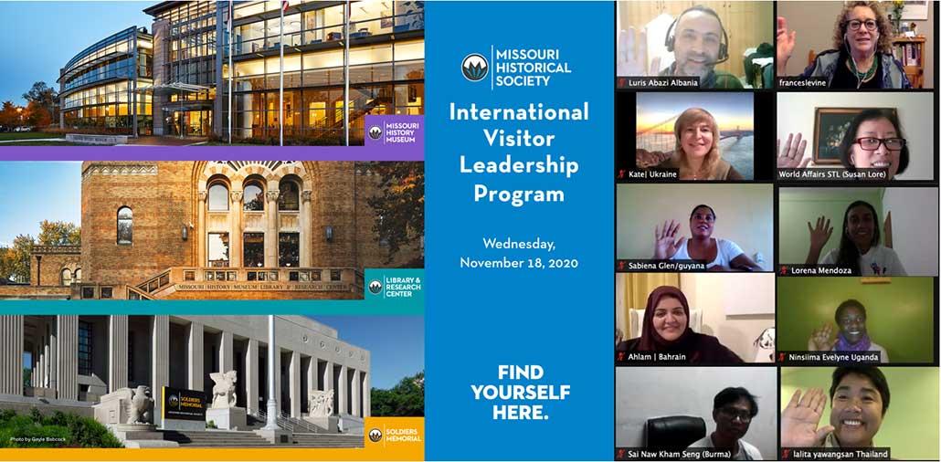International Visitor Leadership Program 2020 St. Louis Missouri History Museum