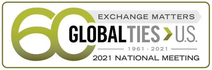 logo of 2021 Global Ties national meeting 60 years