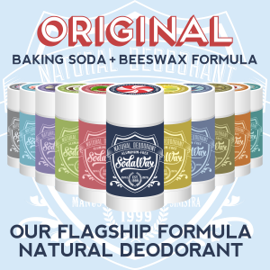 Aluminum-Free Original Formula Natural Deodorant