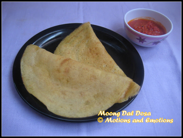 Yellow Moong Dal Dosa / Instant Dosa / Dosa without Fermentation / Quick Dal Dosa/Moong Dal Cheela