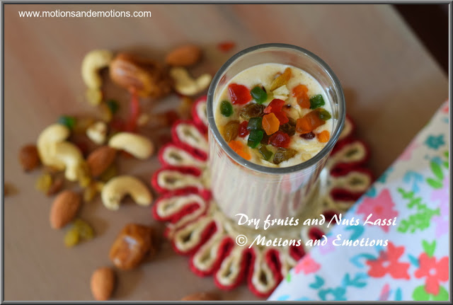 Dry Fruit and Nut Lassi