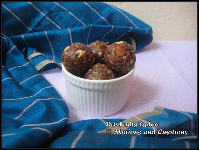 Dry Fruits Ladoo or Dates & Nuts Ladoo or Energy Balls