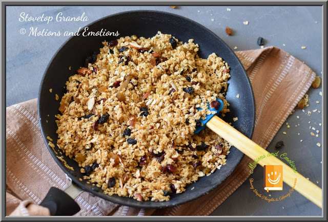 Easy Stovetop Granola Recipe