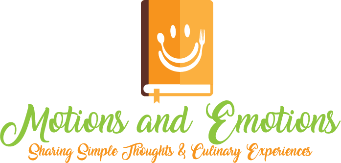 Motions and Emotions – Food Diary