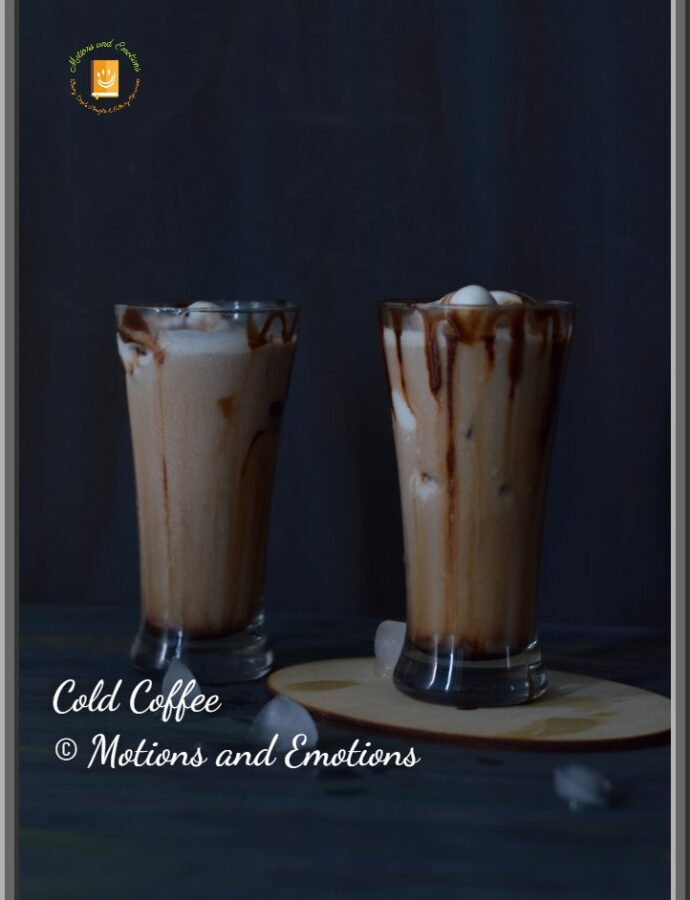 Easy Cold Coffee Recipe | How to make Cold Coffee at home