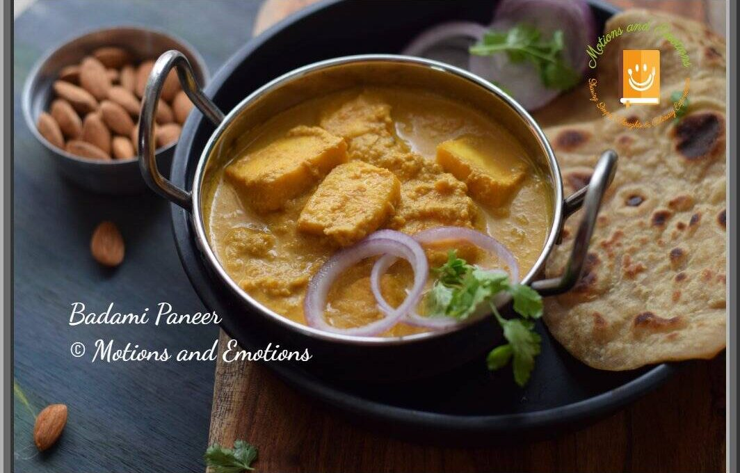 How to make Badami Paneer | Indian Cottage Cheese in Almond Gravy