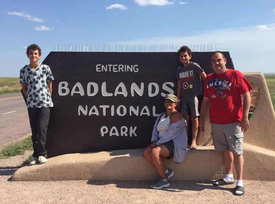 Badlands National Park Camping