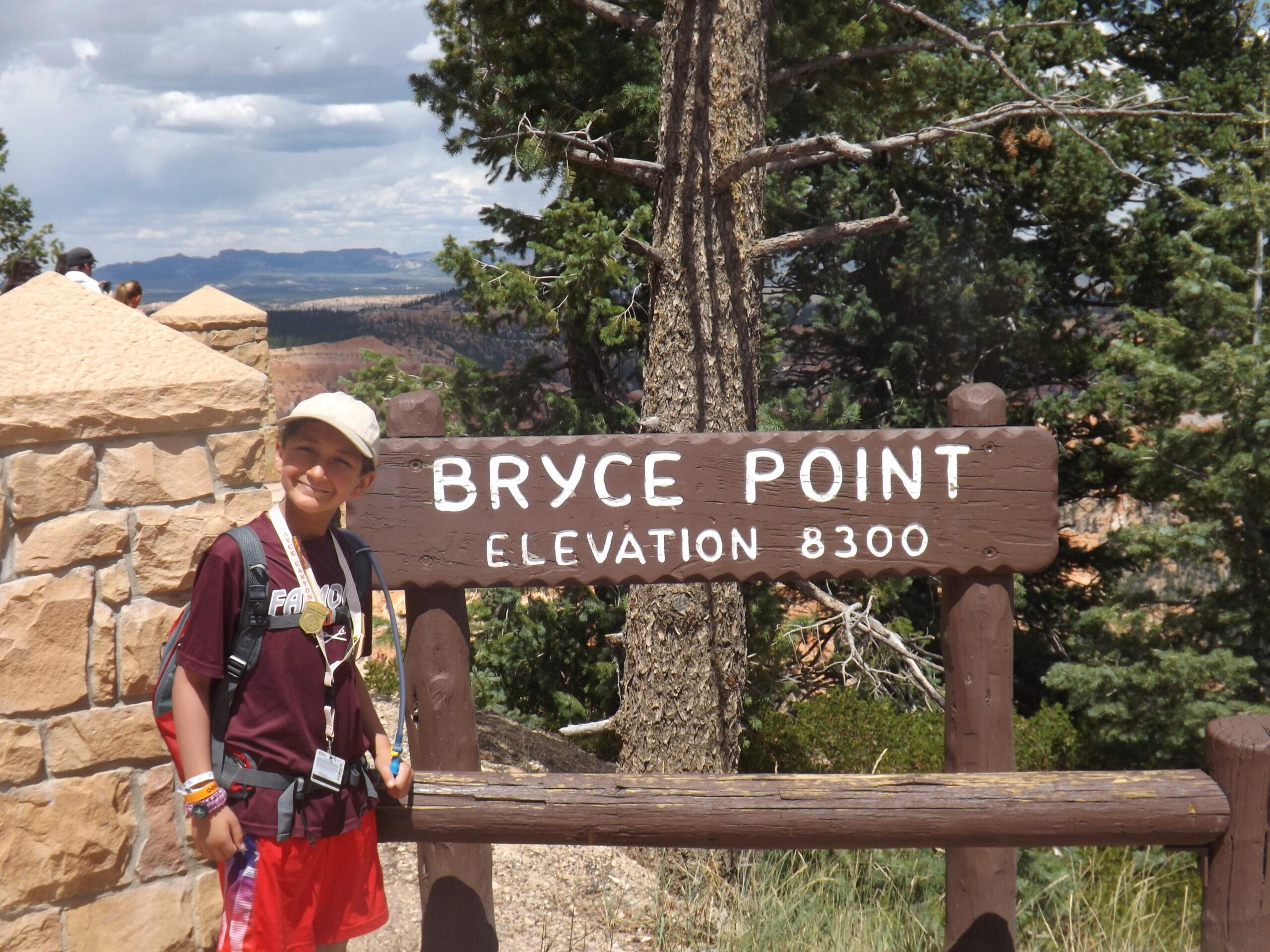 Bryce Point Overlook   Shuttle Stop