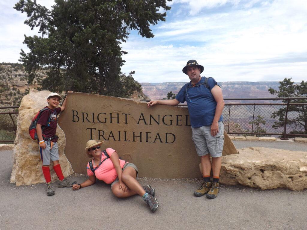 Hiking Bright Angel Trail   Grand Canyon N.P.