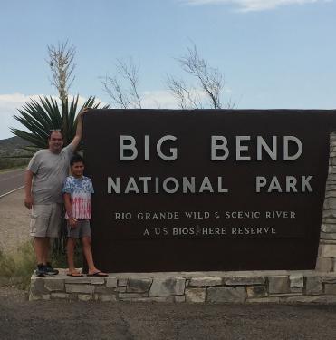 Big Bend N.P. Entrance