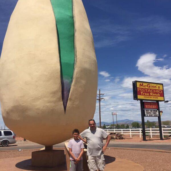 World's Largest Pistachio, New Mexico