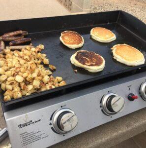 Campground Breakfast