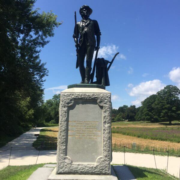 The Minuteman by Daniel French