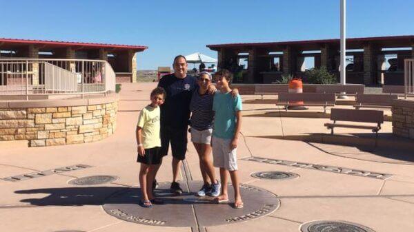 CapeRvTravelers at Four Corners Monument