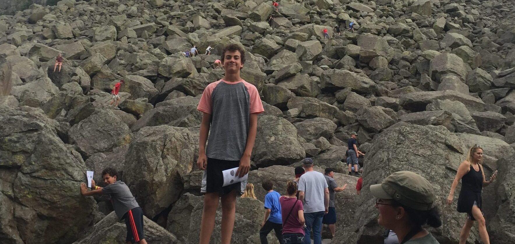 Boulders Climbing