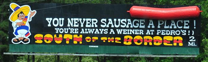 I95 South of the Border Billboard