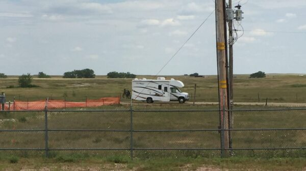 Our Rv In A Missile Field