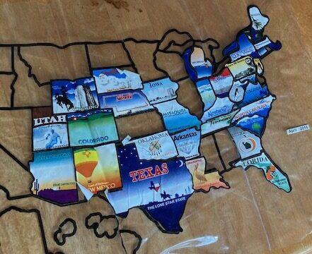 CapeRvTravelers State Sticker Map