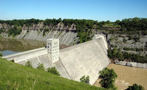 Mt. Morris Dam   Letchworth State Park