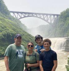 Upper Falls   Letchworth State Park