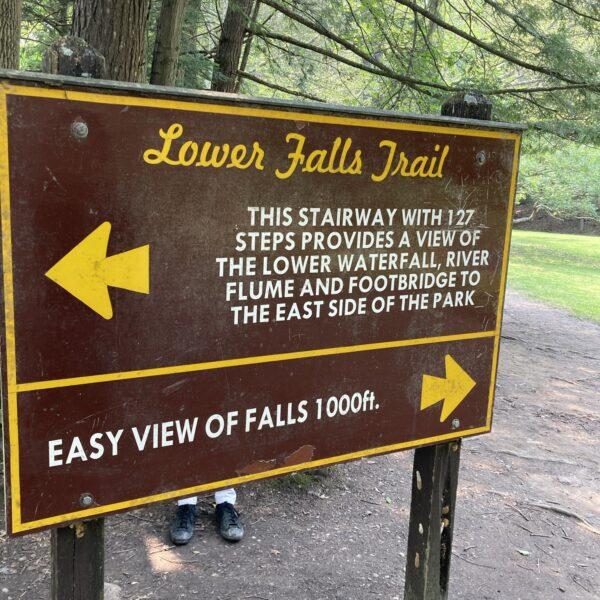 Lower Falls Trail Head