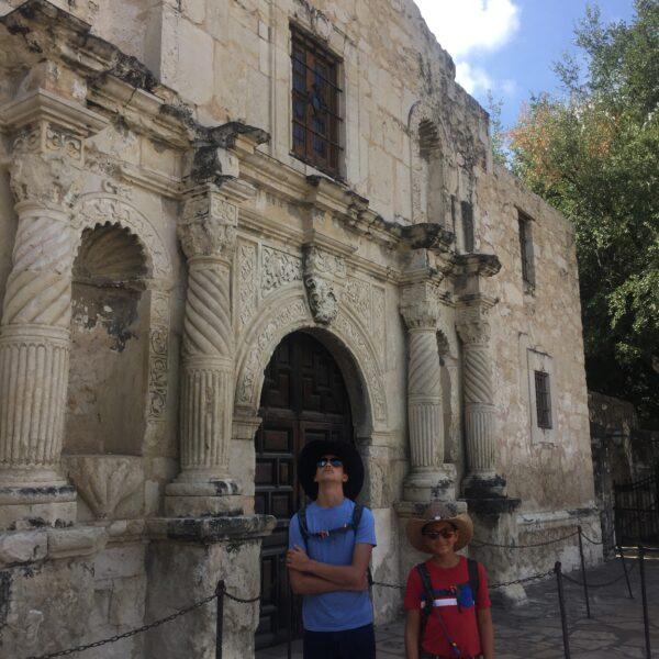The Alamo   San Antonio. TX