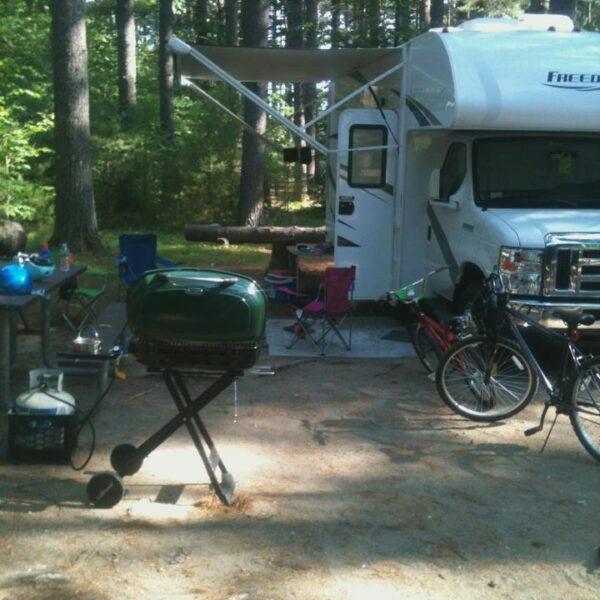 CapeRvTravelers at Bear Brook State Park