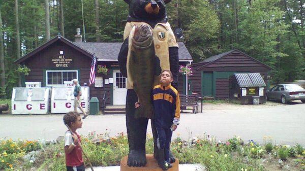 Bear Brook State Park Entrance | 2013