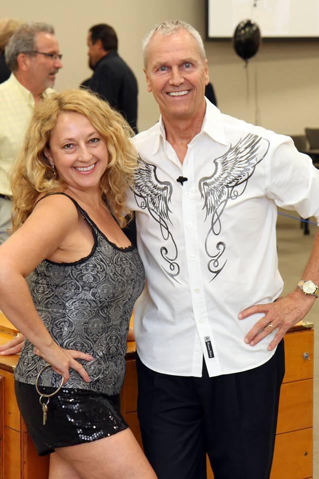 Florida Comedian Magician Gary Roberts and Carla Raymen