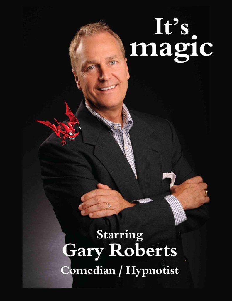 Promo Comedian Magician Gary Roberts