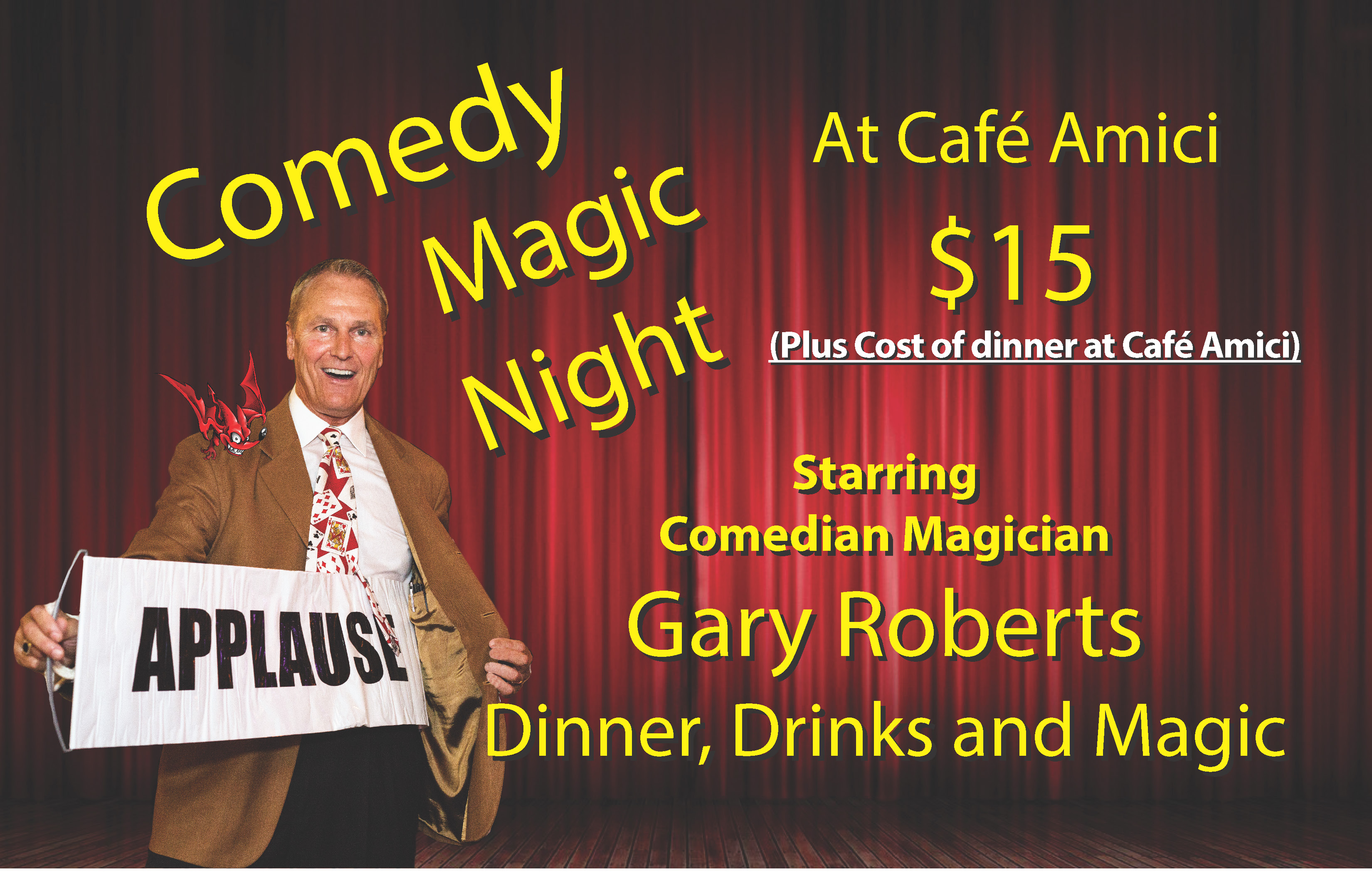 Comedy Magic Night Spring